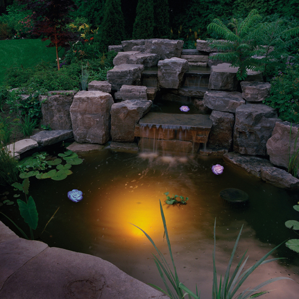 освещение водоемов