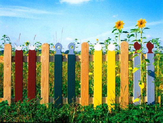 забор красивый
