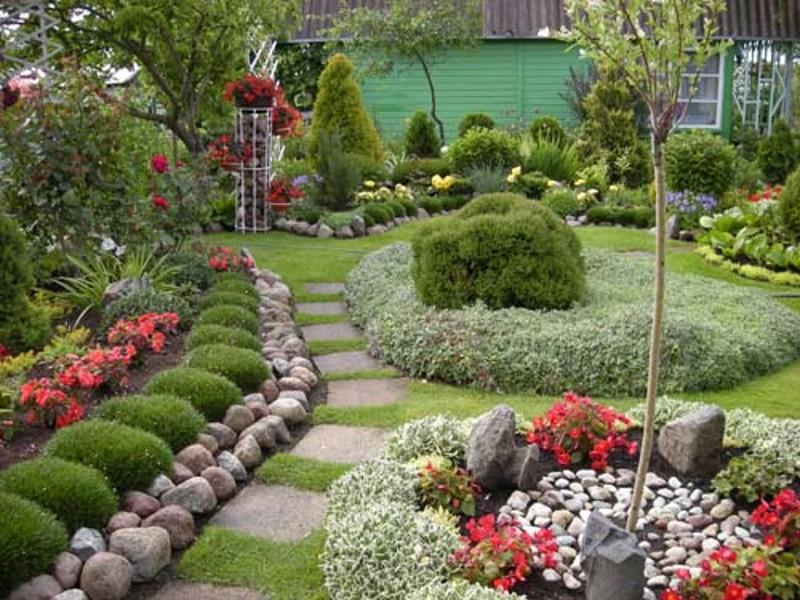 сад округлой формы