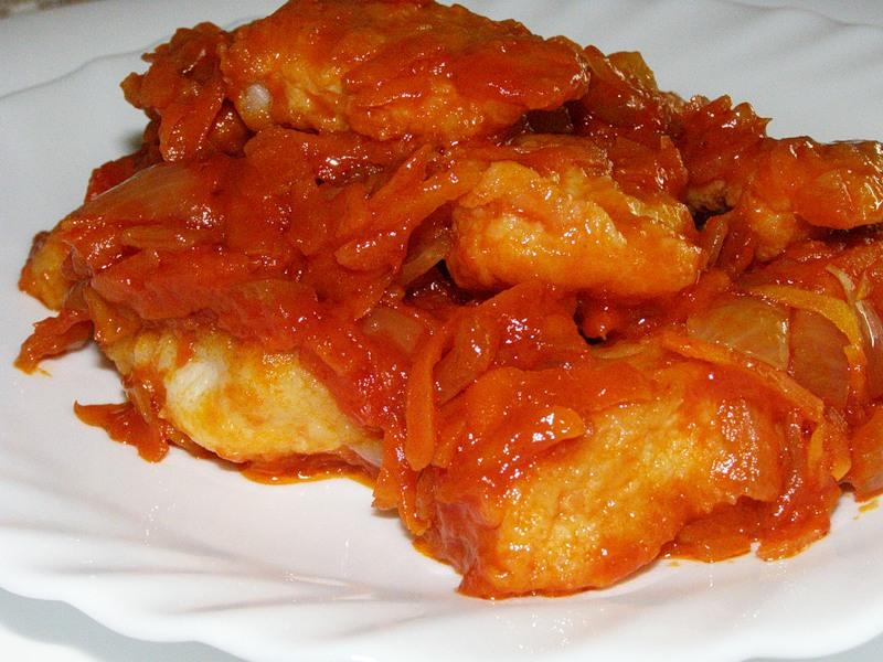Жареная рыба в томате рецепт