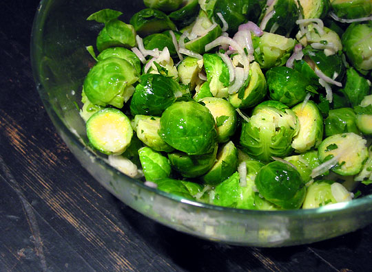 рецепты из брюссельской капусты салат