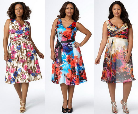 Скачать выкройку платьев для начинающих для полных женщин