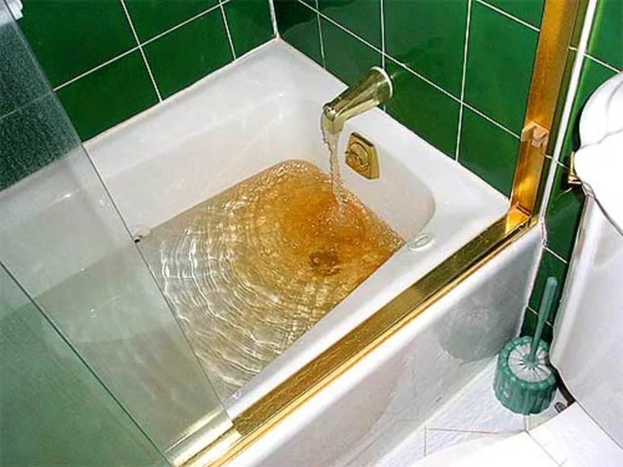 как очистить воду в воде много железа